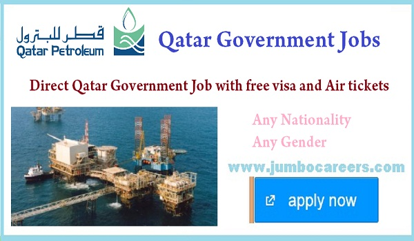 All Qatar government job benefits, Qatar Petroleum careers for expats