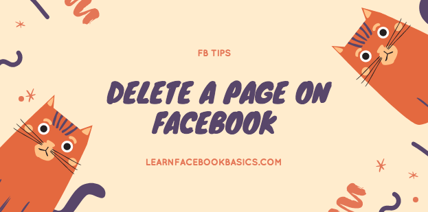 How to delete my Facebook page Right Now | Delete A Page On Facebook