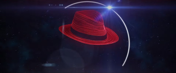 Red Hat Enterprise Linux(LHEL)を開発しているレッドハットの赤い帽子