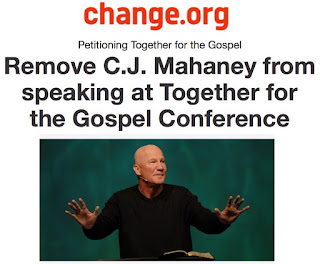 https://www.change.org/p/together-for-the-gospel-remove-c-j-mahaney-from-speaking-at-together-for-the-gospel-conference