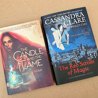 The Candle and the Flame and The Red Scrolls of Magic!