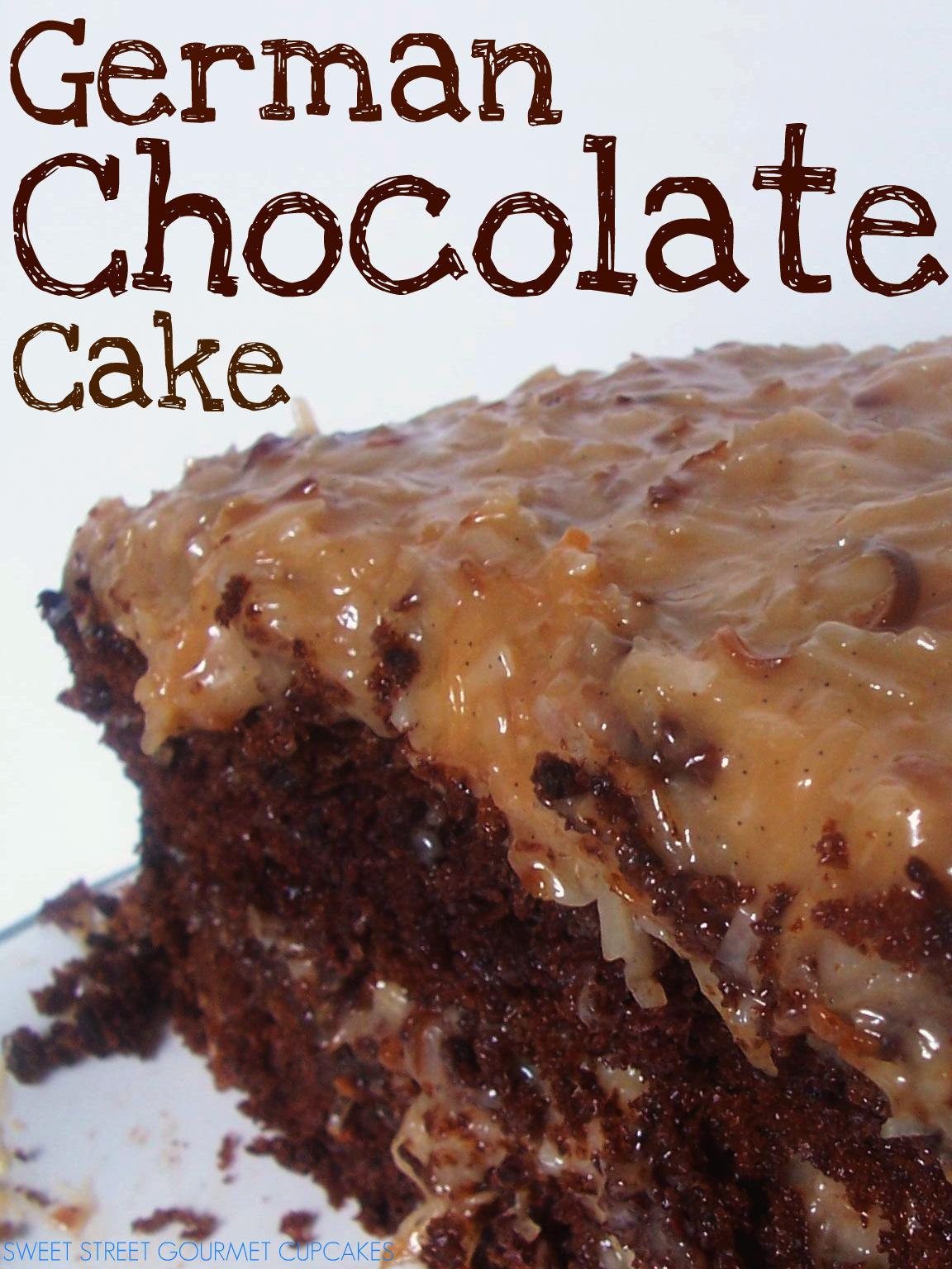 Sweet Baby Mason James: Best EVER German Chocolate Cake
