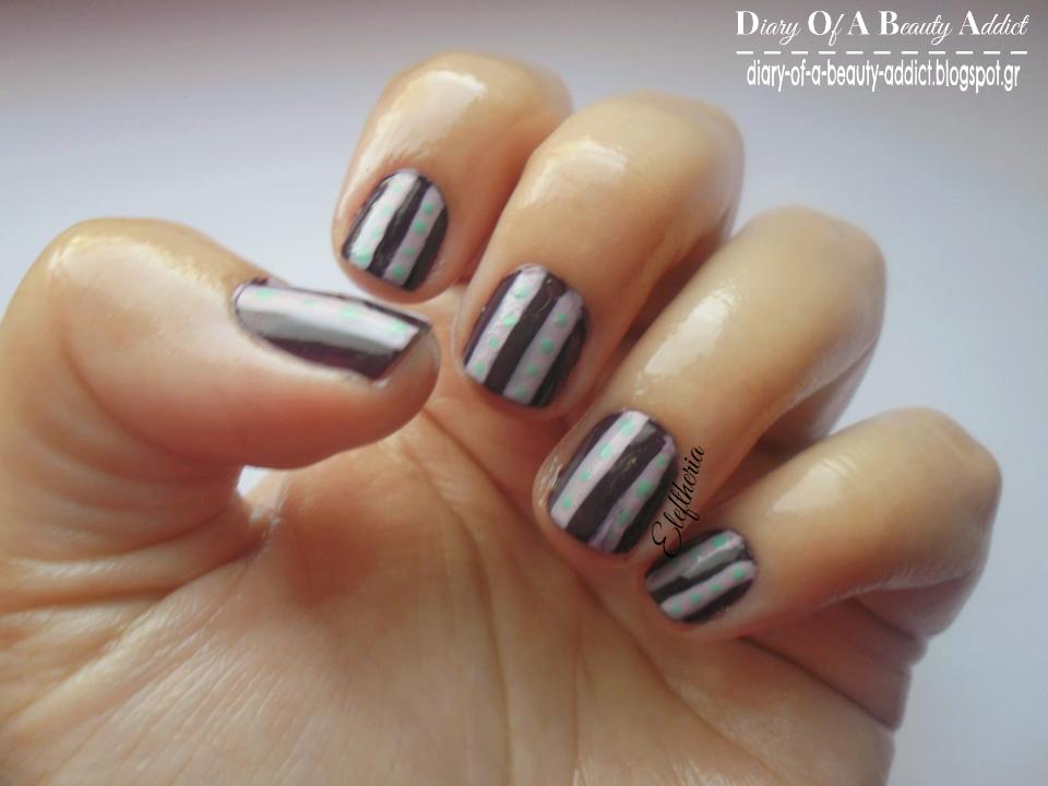 Dark Purple and Lilac Nails ▎Simply Nails