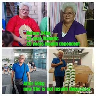 Luzviminda De Leon diabetes sante barley