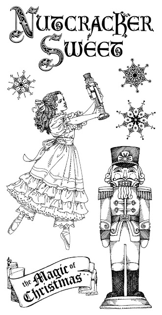 The Paper Boutique: Christmas in July Nutcracker Style and