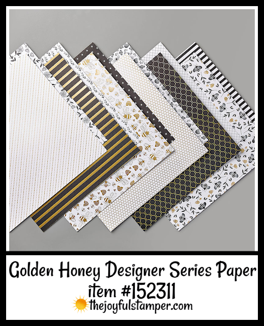 Golden Honey Designer Series Paper | Free Sale-A-Bration item with $50 order
