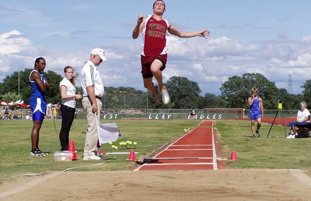 Enseñanza de la técnica de salto largo atletismo
