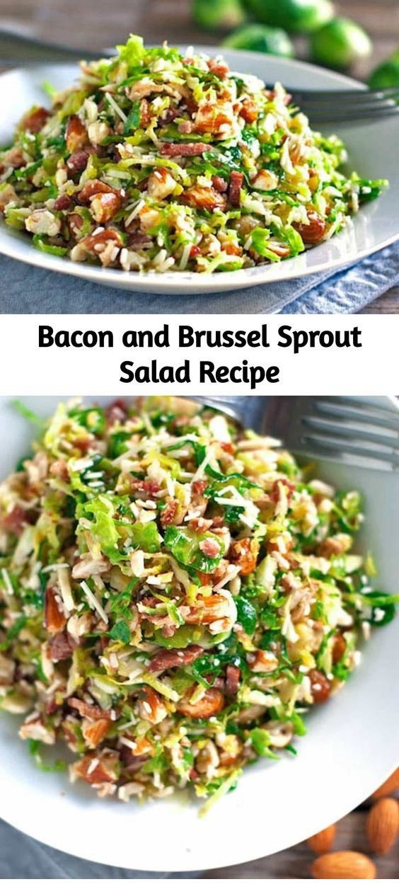 Bacon And Brussel Sprout Salad Recipe