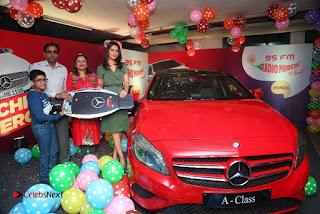 Raashi Khanna at Mirchi 95 Suno Mercedes Jeeto Contest Stills  0030.jpg