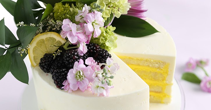 Lemon Wedding Cake 5