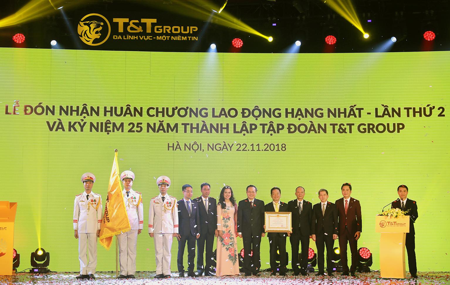 Kỷ niệm 25 năm tập đoàn T&T