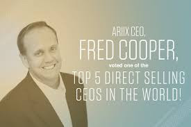 Fred Cooper at ARIIX