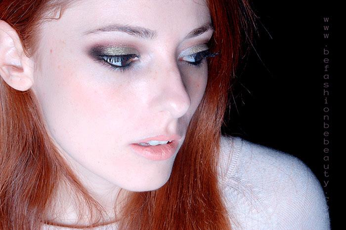 Maquillaje paso a paso : 011 | Maquillaje con brillo.