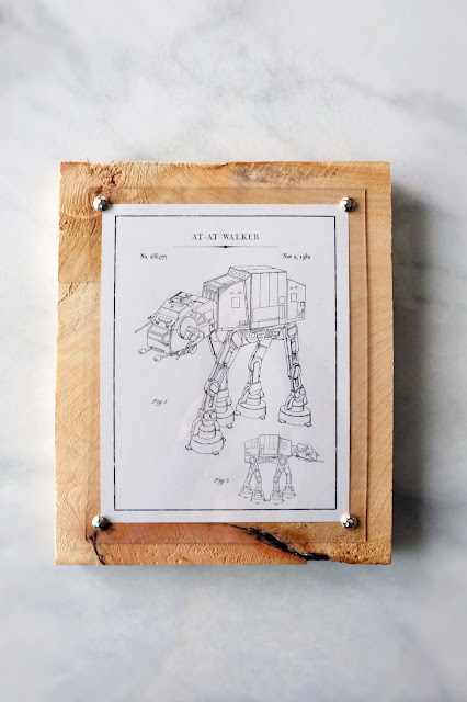 DIY wood craft furniture tack printable frame easy acrylic