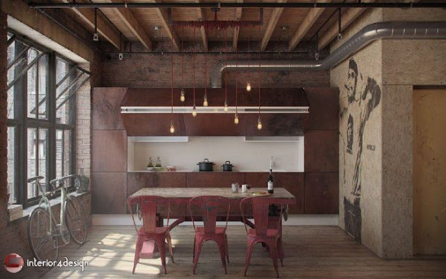 Industrial Style Decor 11