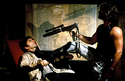 Escape from New York 1981 movie still Kurt Russell Harry Dean Stanton