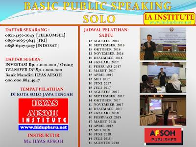 Pelatihan Public di Surakarta