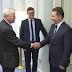 Treffen zwischen Führungskräften der KPMG und Nikola Gruevski