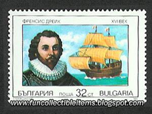 Francis Drake Stamp