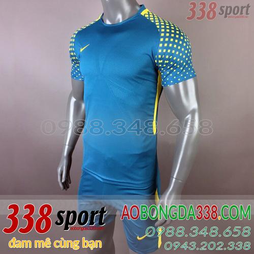 áo không logo nike diled xanh