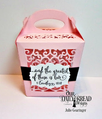Our Daily Bread Designs Stamp Set: Let Love Grow, Our Daily Bread Designs Custom Dies: Glorious Gable Box, Mini Labels
