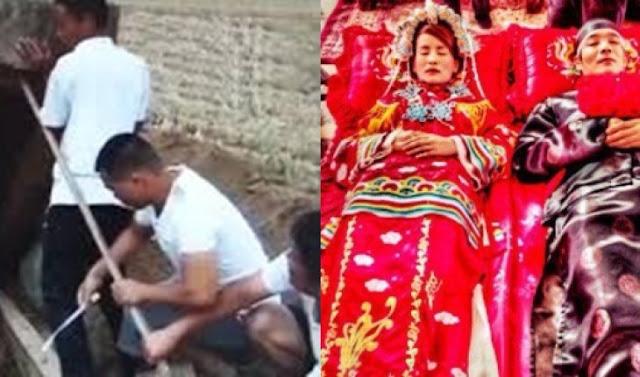 Tradisi unik mayat wanita dinikahkan