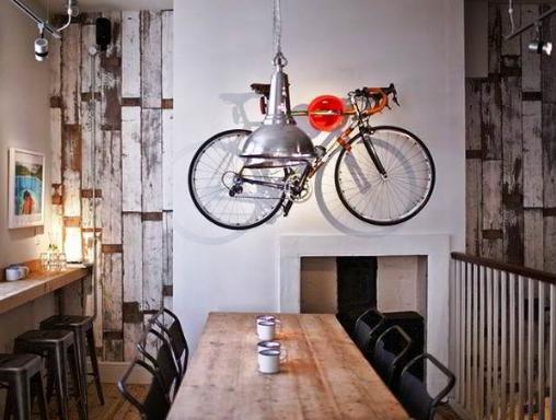 Desain Interior Cafe Vintage