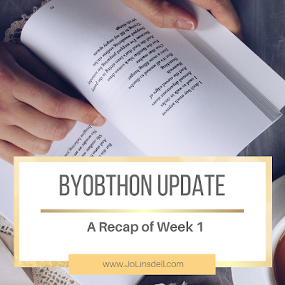 #BYOBthon Update: A Recap of Week 1