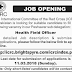 The International Committee of The Red Cross (ICRS) Peshawar Jobs