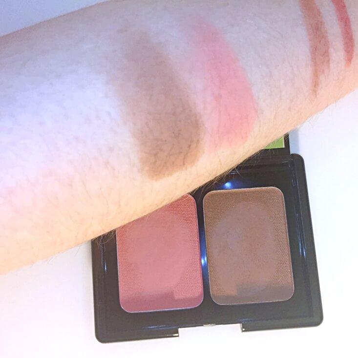 e.l.f. Aqua Beauty Aqua-Infused Blush & Bronzer Bronzed Pink Beige swatch