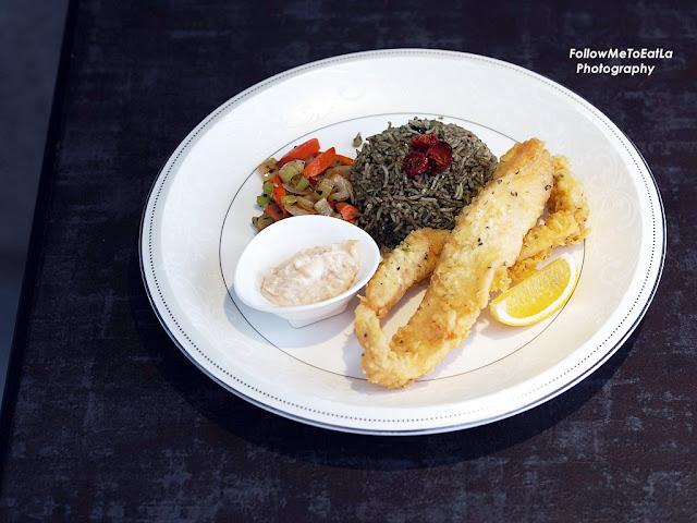 Fish Pesto Raisin Rice RM 24.90