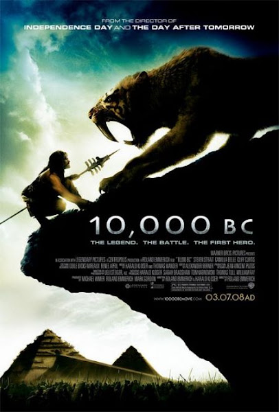 Poster Of 10000 BC 2008 720p Hindi BRRip Dual Audio Full Movie Download