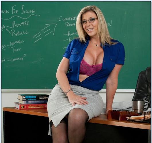 Sara Jay My First Sex Profesora Se Folla Al Alumno 44