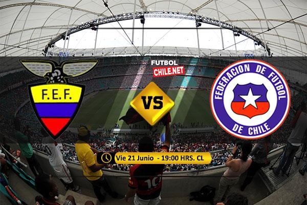 PREVIA: Ecuador vs Chile