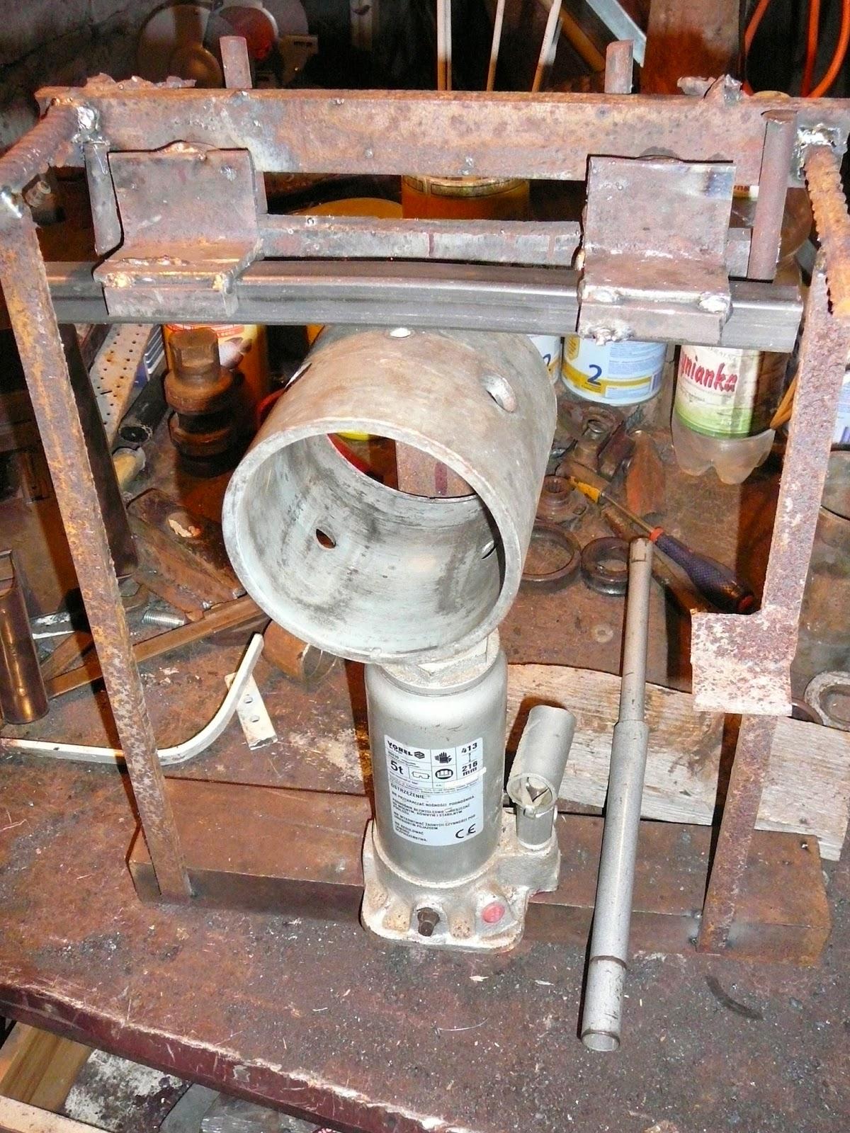 Bardzo dobra The joy of welding, czyli nie ma takiego złomu, co nie przydałby IR85