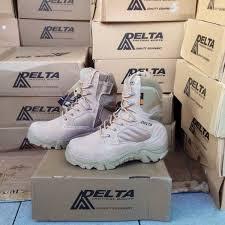 Sepatu Delta force 8 inch coklat tan