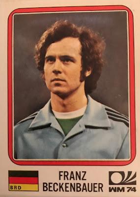 Figurina Beckenbauer Monaco '74