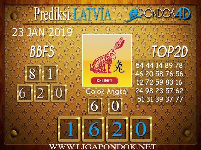 Prediksi Togel LATVIA PONDOK4D 23 JANUARI 2019