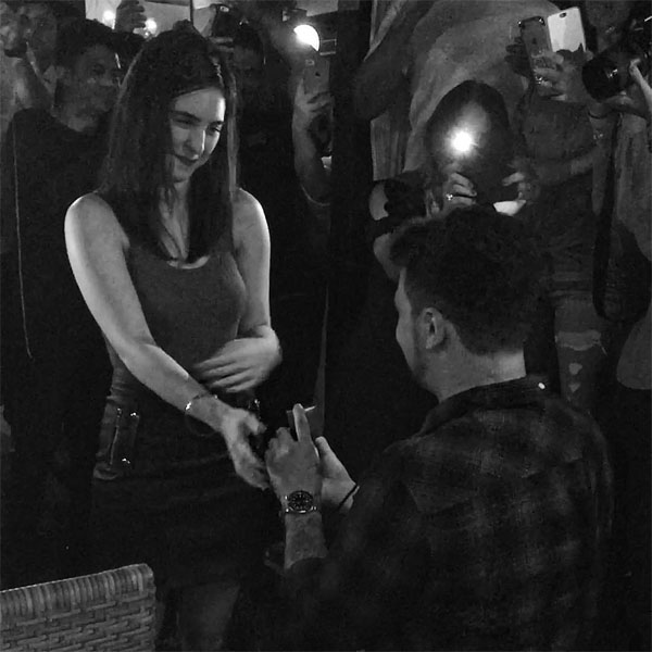 Billy Crawford and Coleen Garcia are engaged
