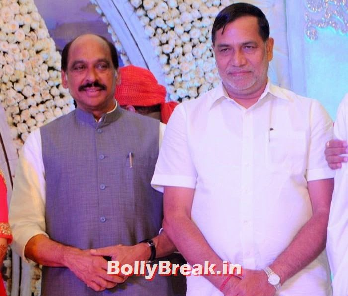 Kripashanker Singh, Manali Jagtap, Vicky Soor Engagement Ceremony Pics