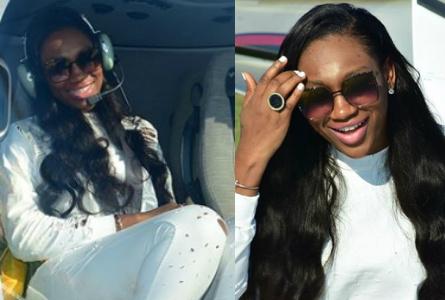 ebube nwagbo helicopter ride dubai