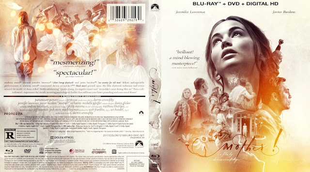 Mother! Bluray Cover