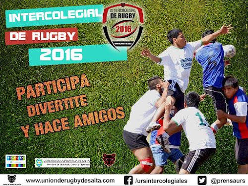Nueva  edición de los intercolegiales de rugby en Salta
