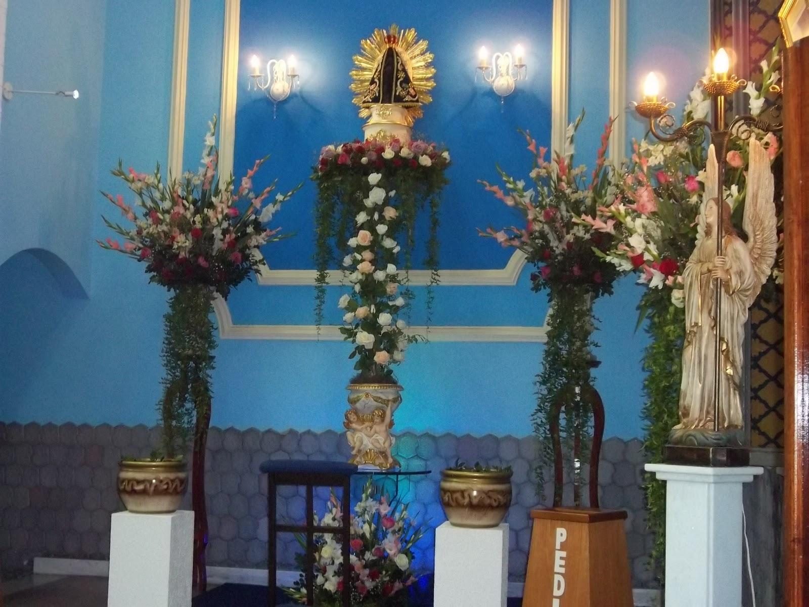 Novena De Nossa Senhora Aparecida: Paróquia Nossa Senhora Aparecida: AS FLORES DE NOSSA