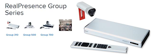 Giải pháp hội nghị truyền hình Polycom group series