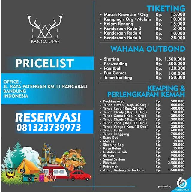 Harga Tiket Masuk Kampung Cai Rancaupas Ciwidey Bandung 2018