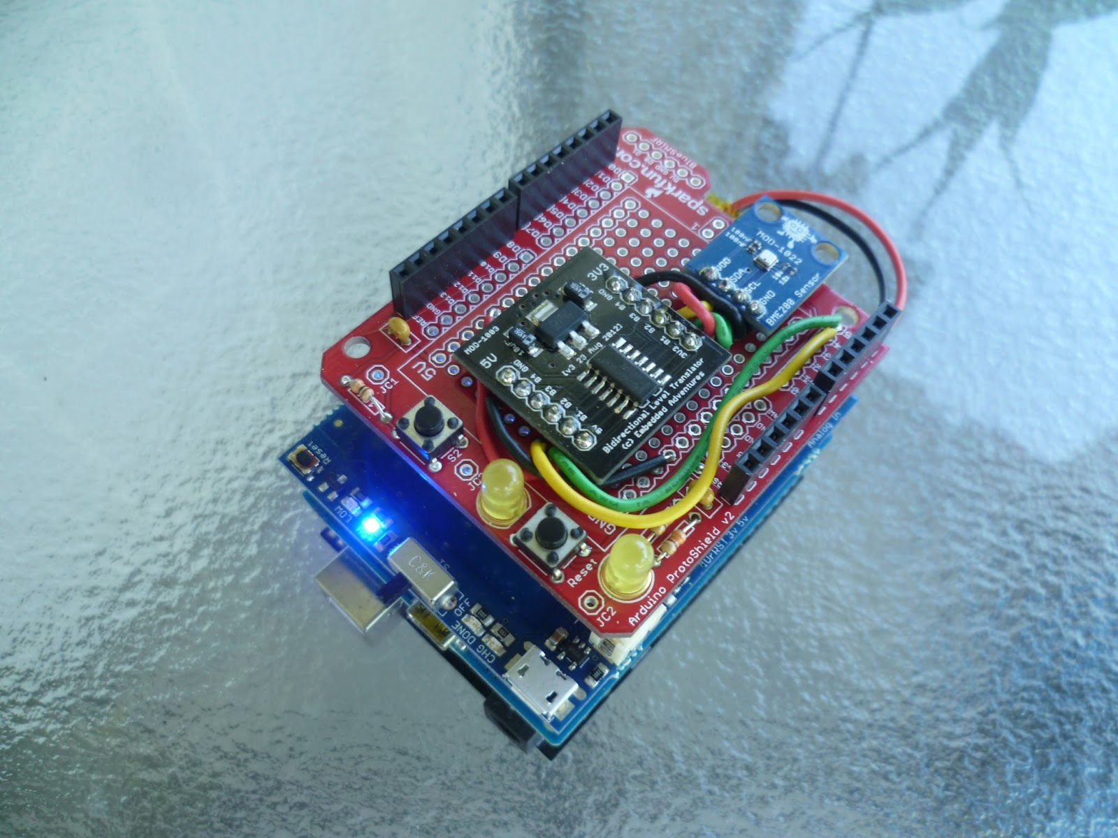 Arduino your home environment wifi weather web server