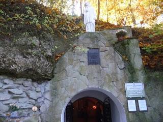 Страдч. Пещерный монастирь XI-XIII в. Вход