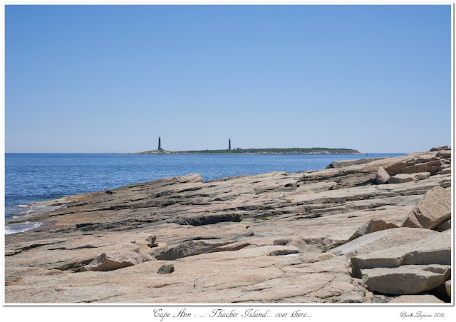 Cape Ann: ... Thacher Island... over there...
