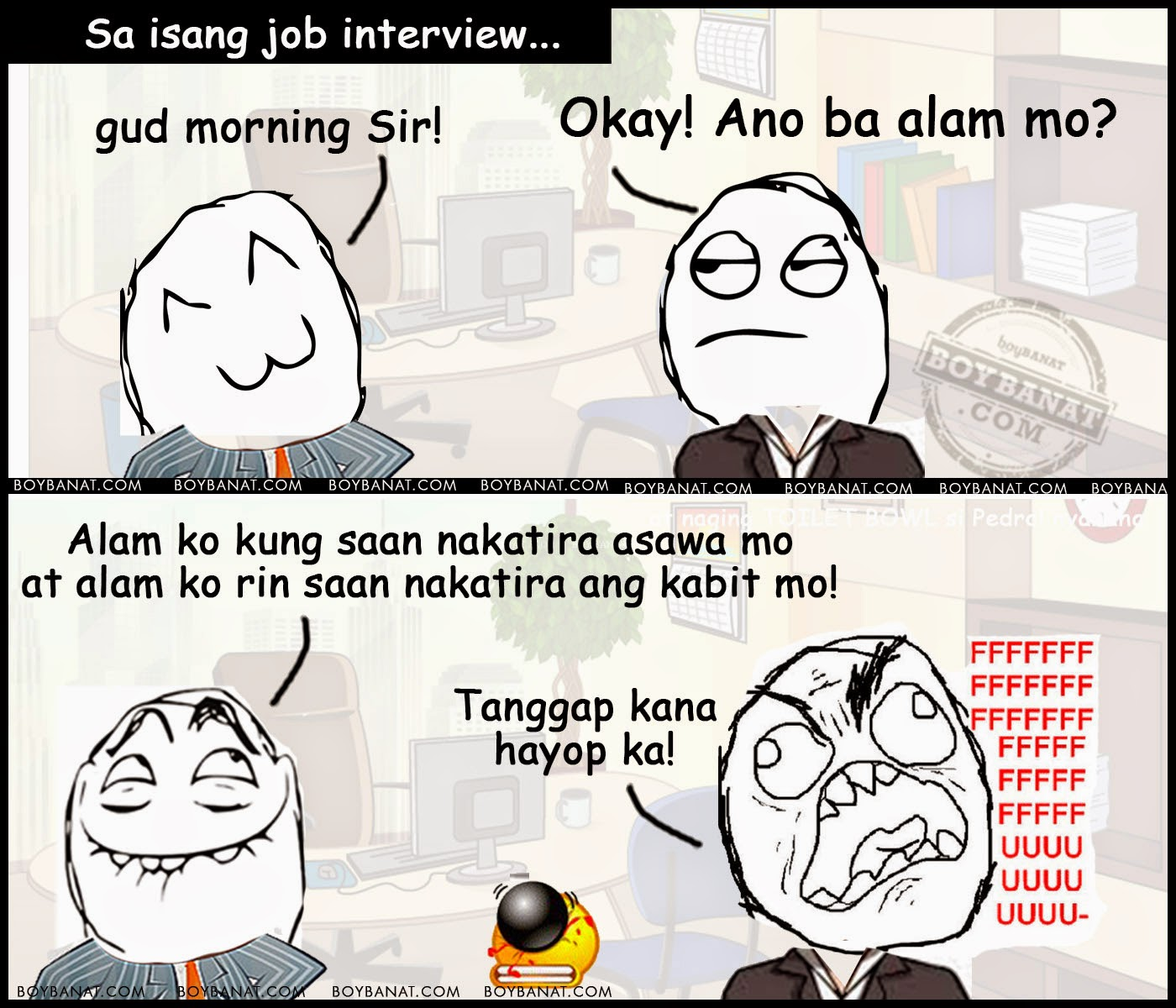 Tagalog Funny Applicant Jokes Collection